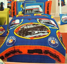 lionel trains pillow sham