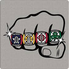 You Choose Size 3 28 Boston Guy Sports Teams Logo Mash Up Vinyl Decal