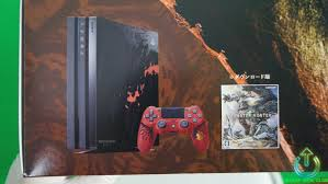 Official Playstation 4 Ps4 Club Unboxing Ps4 Pro Collector Monster Hunter World Star