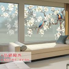 window stickers frosted glass sticker
