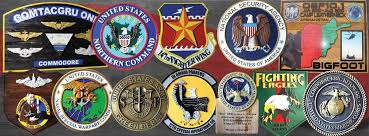 Military Carved Wood Plaques For Units Individuals