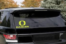 Oregon Eagles O Baseball Window Decal Personalize It Toledo