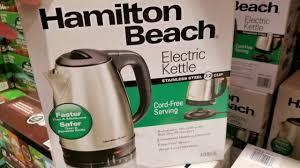 costco hamilton beach electric kettle