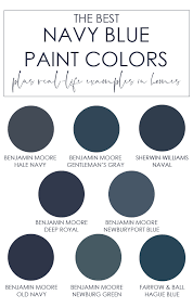 the best navy blue paint colors life