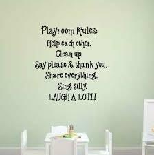 Zoomie Kids Winnie Playroom Rules Personalized Wall Decal Wayfair