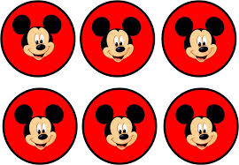 Mickey In Red Free Printable Party Kit Fiesta De Mickey Mouse