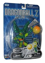 deluxe imperfect cell action figure irwin dragonball z grown up