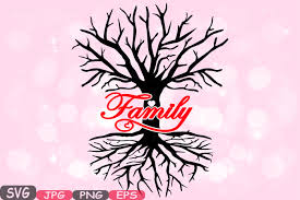 Family Tree Love Svg Word Art Family Quote Clip Art Silhouette Vinyl Wall Decal Roots Word Art Family Png Jpg Eps Family Love 533s By Hamhamart Thehungryjpeg Com