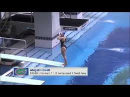Abigail Howell - SEXY DIVING - YouTube