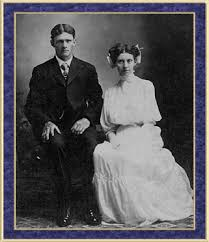 Luella Miller and George T. Smith of Edwards County, Illinois