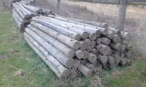 Treated Pine Fence Posts Livestock Equipment Livestock Fencing
