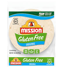 gluten free original tortilla wraps