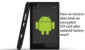 retrieve data from an encrypted sd card