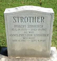Robert Strother + Annis Preston - Our Family Tree