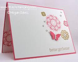 diy card making making a get well card