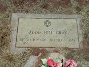 Addie Hill Gray 1920 - 1989 BillionGraves Record