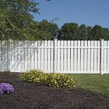 Freedom Actual 6 06 Ft X 8 Ft Ready To Assemble Waverly White Vinyl Dog Ear Vinyl Fence Panel Lowes Com Vinyl Fence Panels Vinyl Fence Dog Ear Fence