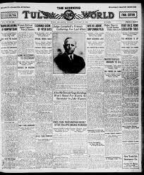 The Morning Tulsa Daily World (Tulsa, Okla.), Vol. 15, No. 106, Ed. 1,  Friday, January 14, 1921 - Page 1 of 18 - The Gateway to Oklahoma History