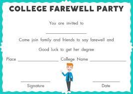farewell party invitation template 23