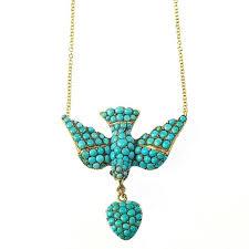 antique victorian turquoise gold saint