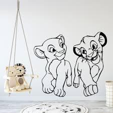 3d Lion King Simba Wall Paper Print Wall Decal Wall Deco Indoor Wall Murals Home Garden Wallpaper Murals Ayianapatriathlon Com