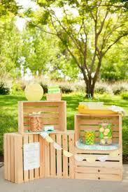 15 beautiful lemonade stand designs a