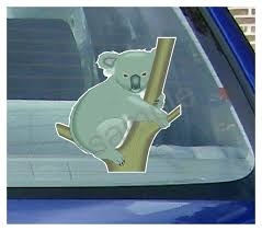 Koala Car Window Decal Koala Window Decal Vehicle Stickers Westickerthang Cwv Koala1 7 95 Westickerthang Offers A Wide Variety Of Sticker Wall Decals Wall Nursery Art And Car Window Stickers