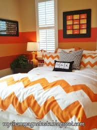 chevron bedding and elements pillow