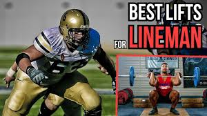 top 3 strength exercises for lineman