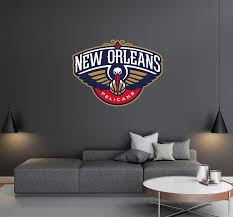 New Orleans Pelicans Logo Wall Decal Egraphicstore