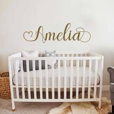 67 20cm Vinyl Lettering Name Decal Simple Custom Name Decals Baby Girl Nursery Wall Stickers Personalised Wallpapers Lc1776 Wall Stickers Aliexpress