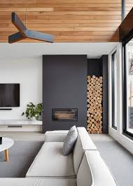 inspiring fireplace wood storage ideas