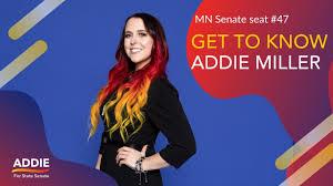 Addie Miller - DFL candidate for MN Senate District 47