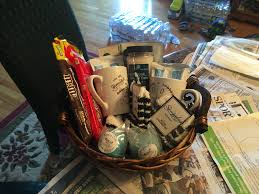 making a grief basket eigh going