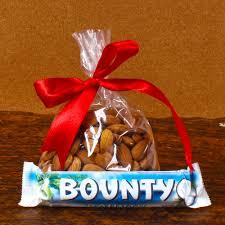 designer rakhi thali with bounty