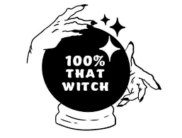 100 That Witch Vinyl Decal Sticker Etsy Funny Vinyl Decals Vinyl Decals Vinyl Decal Stickers