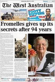 Newspaper The West Australian ...