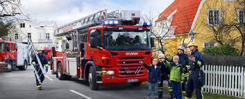 scania fire truck hd wallpaper
