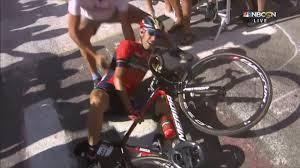 Vincenzo Nibali out of Tour de France after fan crash, fractured vertebrae