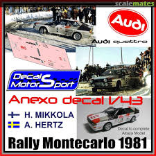 Audi Quattro In Np 50 Audi Decal Motor Sport