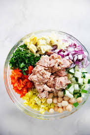 Mediterranean Tuna Salad with No Mayo ...