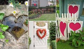 outdoor decorating ideas with hearts