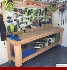 16 Awe Inspiring Wood Working Bench Decks Ideas Diy Workbench Garage Work Bench Diy Garage