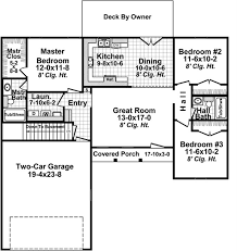 small house plans floor plan 3 bedrms