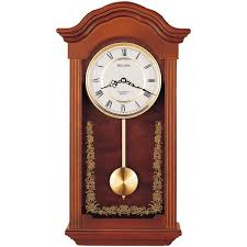 w pendulum chime wall clock c4443