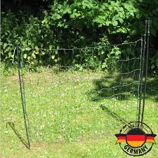 Electric Netting Gate For Poultry Or Goat Nets Made In Germany