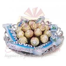 sweets bounty ferrero tray gift