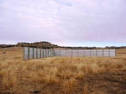 Fabricated Metal Windbreaks In Campbell County Nrcs Wyoming