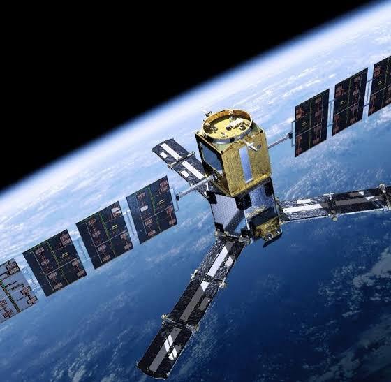 Beispiel für einen Satellit für GPS oder Telekomunikation
