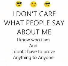 i don t care quotes and sayings